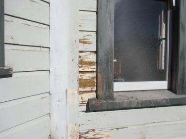 0134 Wet blasted, older side of house 13-03-14